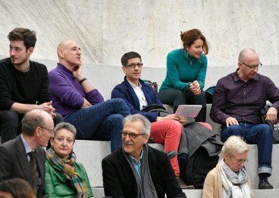 Im Publikum: Alexander Jolles, Brida von Castelberg, Thomas Toth
